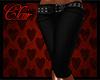[CJ] Jeans Shorts Black