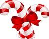 CandyCane Bow