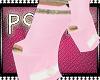 P( * Pink Glitter Wedges