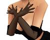 (k) sheer black gloves
