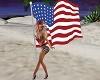 USA Flag & Poses