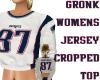 GRONK JERSEY CROP TOP