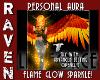 FLAME GLOW SPARKLE AURA!