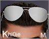 K silver sunglasses  M