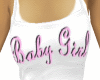 Baby Girl pink on white