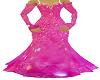 fishtail ballgown pink