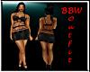 BBW Black sexy Dress