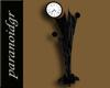 G-Black Art Deco Clock
