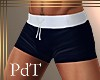 PdT Black Swim Trunks M