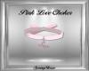 Pink Love Choker