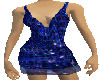 Glitter Blue Dress
