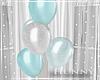 H. Teal Balloons