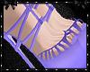 Sweetheart Purple Heels