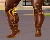 Gold WySexy Roman Sandal