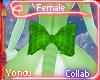 Jade Back Bow