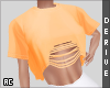 AC | Ripped Up Crop Top