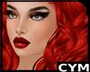 Cym Red L Mera Hair