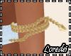 Lf  Gold Snake Armband