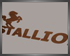 STALLION! CLUB SIGN