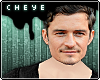 c. orlando bloom! mask