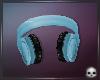 [T69Q] Blue Headphones