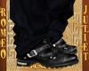 (R&J)Black Biker Boots