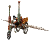 Steampunk Flying Car
