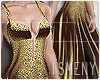 [Is] Sequin Greed Dress