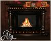 Autumn Attic Fire Place