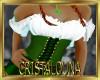Busty St Patrick corset