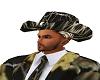BLACK CAMO COWBOY HAT