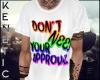 K. Approval W