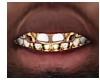 Open Face Bust Down Gold