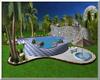 TH*Blue pool island