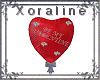 (XL)Valentine Balloon