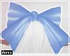 f blue bow