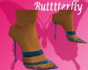 (B) Blue Gucci Heels