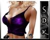 #SDK# Magenta Sexy Top