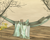 Romantic Bed Swing