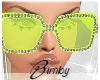 Diamond Sunnies Lime