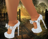 Sexy White/Silver Heels