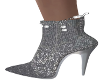 Slivery Ankle Boots