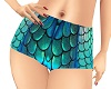 *Aqua Mermaid Shorts*