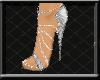 ! Gem Stilettos Silver
