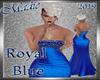 !a Linda Royal Blue
