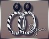 S! Zebra Earrings
