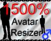 *M* Avatar Scaler 1500%