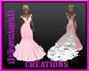 Wedding Gown Pink&White
