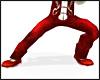 Kungfu Silk Pants RED