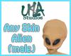 Alien Head (Male)